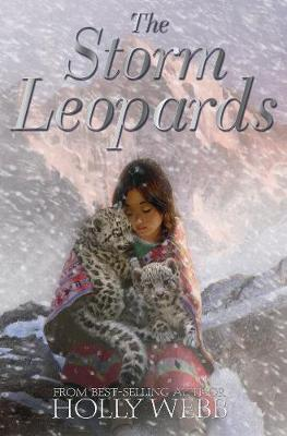 Cover for The Storm Leopards by Holly Webb