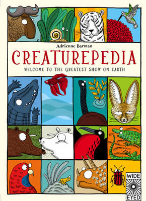 Cover for Creaturepedia by Adrienne Barman
