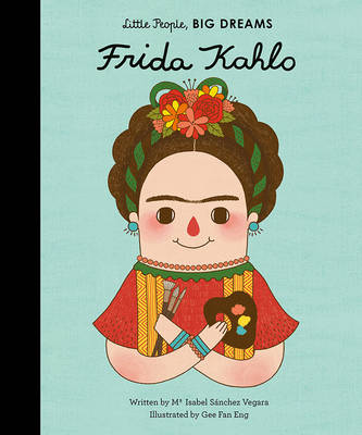 Book Cover for Frida Kahlo by Isabel Sanchez Vegara