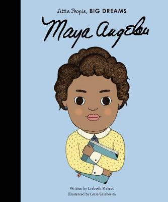 Book Cover for Maya Angelou by Lisbeth Kaiser
