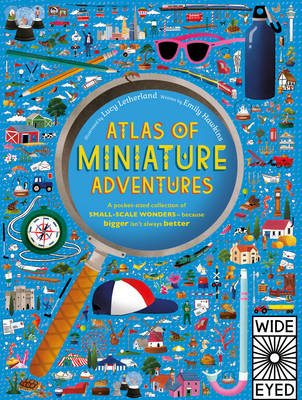Cover for Atlas of Miniature Adventures by Emily Hawkins