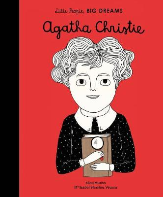 Cover for Agatha Christie by Isabel Sanchez Vegara
