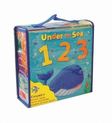 Under the Sea, 1 2 3 (board book and building blocks) by Rebecca Finn