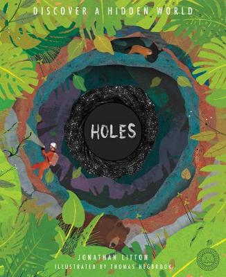 Cover for Holes Discover a Hidden World by Jonathan Litton