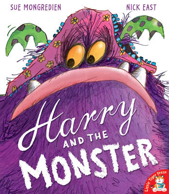 Cover for Harry and the Monster by Sue Mongredien