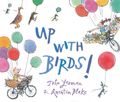 Cover for Up with Birds! by John Yeoman