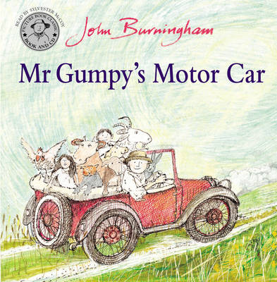 Mr Gumpy's Motor Car Book and CD by John Burningham