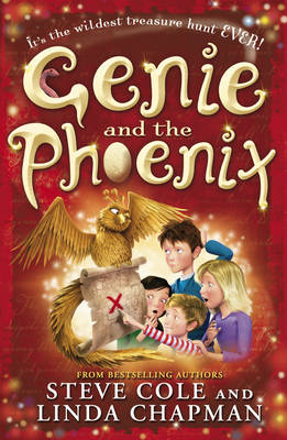 Cover for Genie and the Phoenix by Steve Cole, Linda Chapman