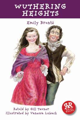 Cover for Wuthering Heights - retold by Gill Tavner by Emily Bronte