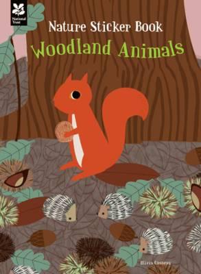 My Nature Sticker Activity Book: Woodland Animals by Olivia Cosneau