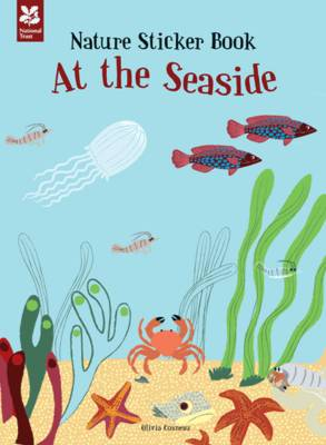 My Nature Sticker Activity Book: At the Seaside by Olivia Cosneau