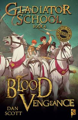 Cover for Blood Vengeance by Dan Scott