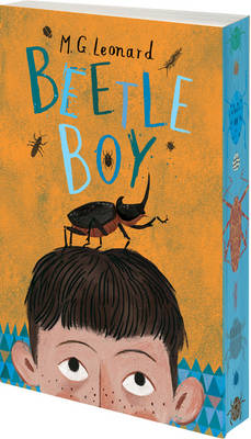 Cover for Beetle Boy by M.G. Leonard