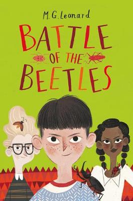 Cover for Battle of the Beetles by M.G. Leonard