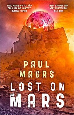 Cover for Lost on Mars by Paul Magrs