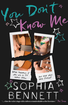 Cover for You Don't Know Me by Sophia Bennett