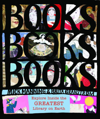 Cover for Books! Books! Books! by Mick Manning