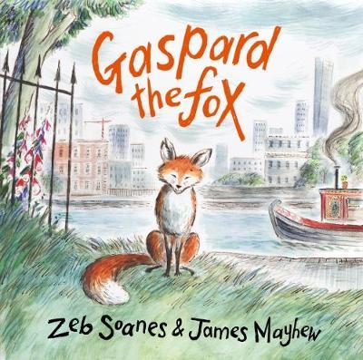 Gaspard The Fox by Zeb Soanes