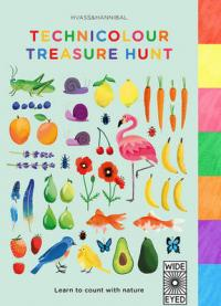 Technicolour Treasure Hunt Learn to Count with Nature by Nan Na Hvass