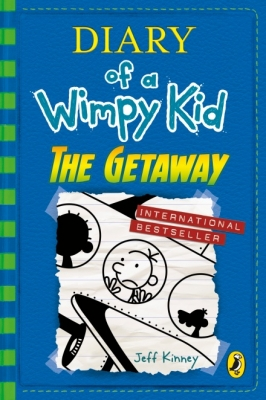 Cover for Diary of a Wimpy Kid: The Getaway (book 12) by Jeff Kinney