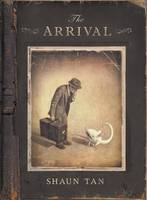 Cover for The Arrival by Shaun Tan