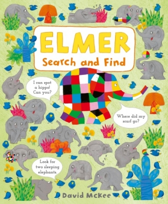Cover for Elmer Search and Find by David McKee