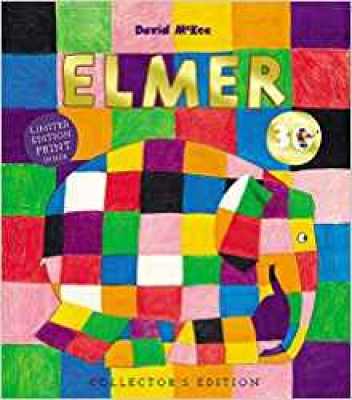 Elmer 30th Anniversary Collector's Edition with Limited Edition Print