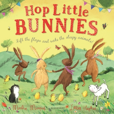 Cover for Hop Little Bunnies by Martha Mumford