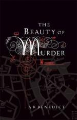 Cover for The Beauty of Murder by A. K. Benedict
