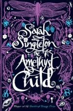 Cover for The Amethyst Child by Sarah Singleton
