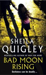 Cover for Bad Moon Rising by Sheila Quigley