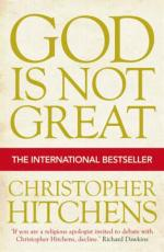 Cover for God Is Not Great by Christopher Hitchens