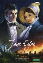 Cover for Jane Eyre : The Graphic Novel - Quick Text by Charlotte Bronte