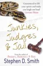 Cover for Junkies, Judges and Jail by Stephen D Smith