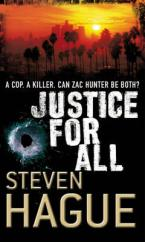 Cover for Justice for All by Steven Hague