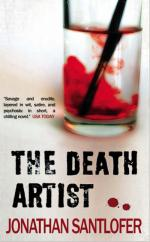 Cover for The Death Artist by Jonathan Santlofer