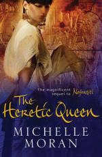 Cover for The Heretic Queen by Michelle Moran