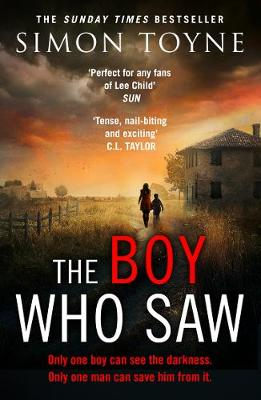 Cover for The Boy Who Saw by Simon Toyne