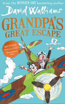 Cover for Grandpa's Great Escape by David Walliams