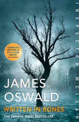 Cover for Written in Bones by James Oswald