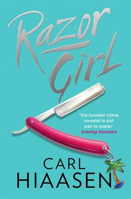 Cover for Razor Girl by Carl Hiaasen