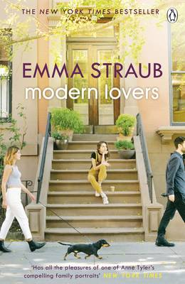 Cover for Modern Lovers by Emma Straub