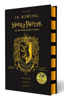 Cover for Harry Potter and the Philosopher's Stone - Hufflepuff Edition by J. K. Rowling