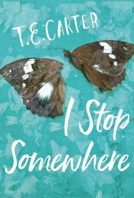 Cover for I Stop Somewhere by T. E. Carter