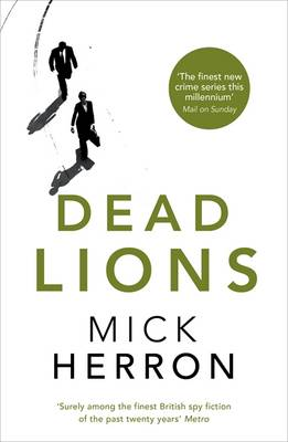 Cover for Dead Lions by Mick Herron