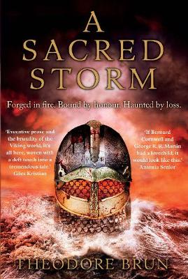 Cover for A Sacred Storm  by Theodore (Author) Brun
