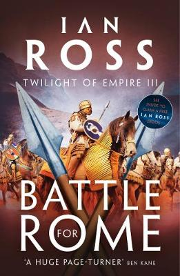Cover for Battle for Rome by Ian Ross