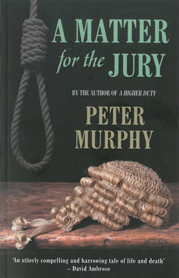 Cover for A Matter for the Jury by Peter Murphy