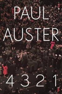 Book Cover for 4 3 2 1 by Paul Auster