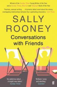 Book Cover for Conversations with Friends by Sally Rooney